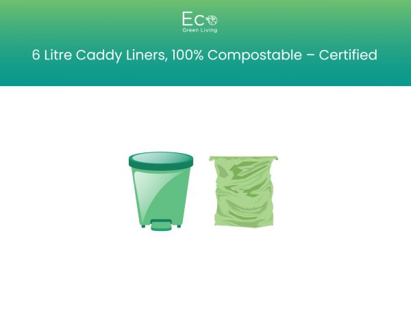 6 litre caddy liners