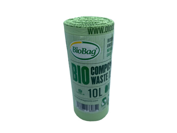 single 10 litre roll of bags