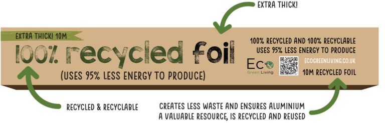 recycled foil