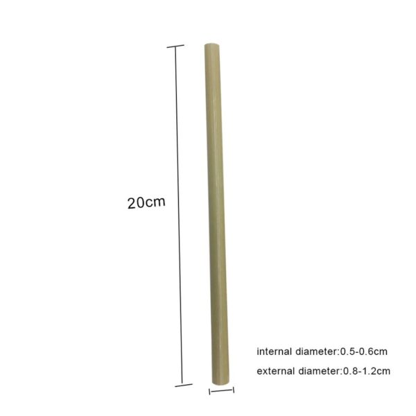 bamboo straw dimensions